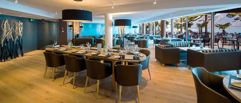 Hotel Eurotel Riviera, Montreux, Switzerland - resstaurant interior.jpg